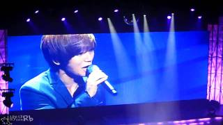 Fancam 110213 Yesung Waiting For You
