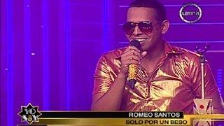 "Romeo Santos hizo suspirar a Maricarmen Marín con ""Solo por un beso"""