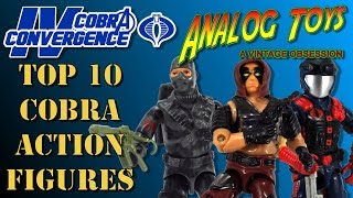Top 10 Best Cobra Action Figures - Cobra Convergence IV