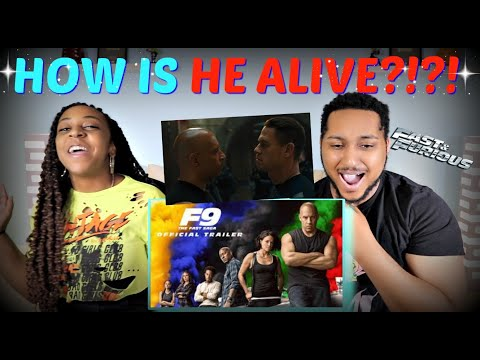 """FAST AND FURIOUS 9"" Official Trailer (2020) REACTION!!"