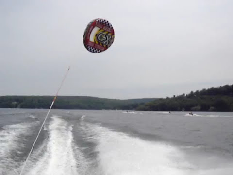 Kite Tube Disaster- 55mph straight down