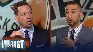 Chris Broussard doubts whether Giannis can be the face of the league | NBA | FIRST THINGS FIRST