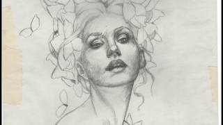 SKETCHING ON TRACING PAPER - How to + Timelapse Drawing
