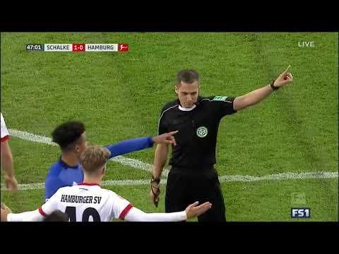 Шальке 04 – Гамбург 19.11.2017 Обзор матча Футбол  Чемпионат Германии