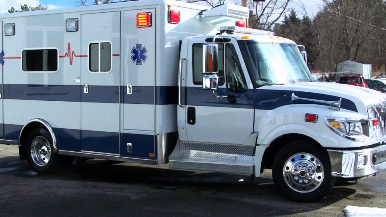 2012 Horton 603 Terrastar 15375 VCI New Ambulance Delivery ...