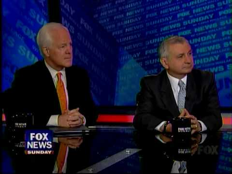 Sen. Cornyn Appears on Fox News Sunday 8-15