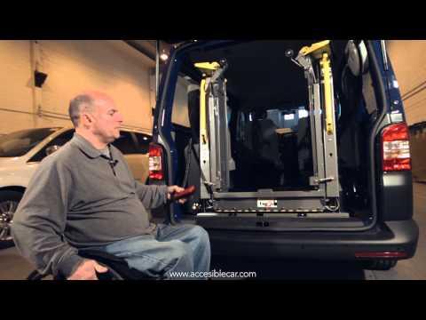 Tutorial plataforma elevadora, manejo de vehículos adaptados para minusválidos y discapacitados