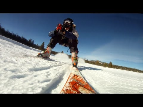Skiing with Jetpack - Troy Hartman