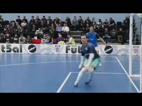 England vs Wales Futsal 2013