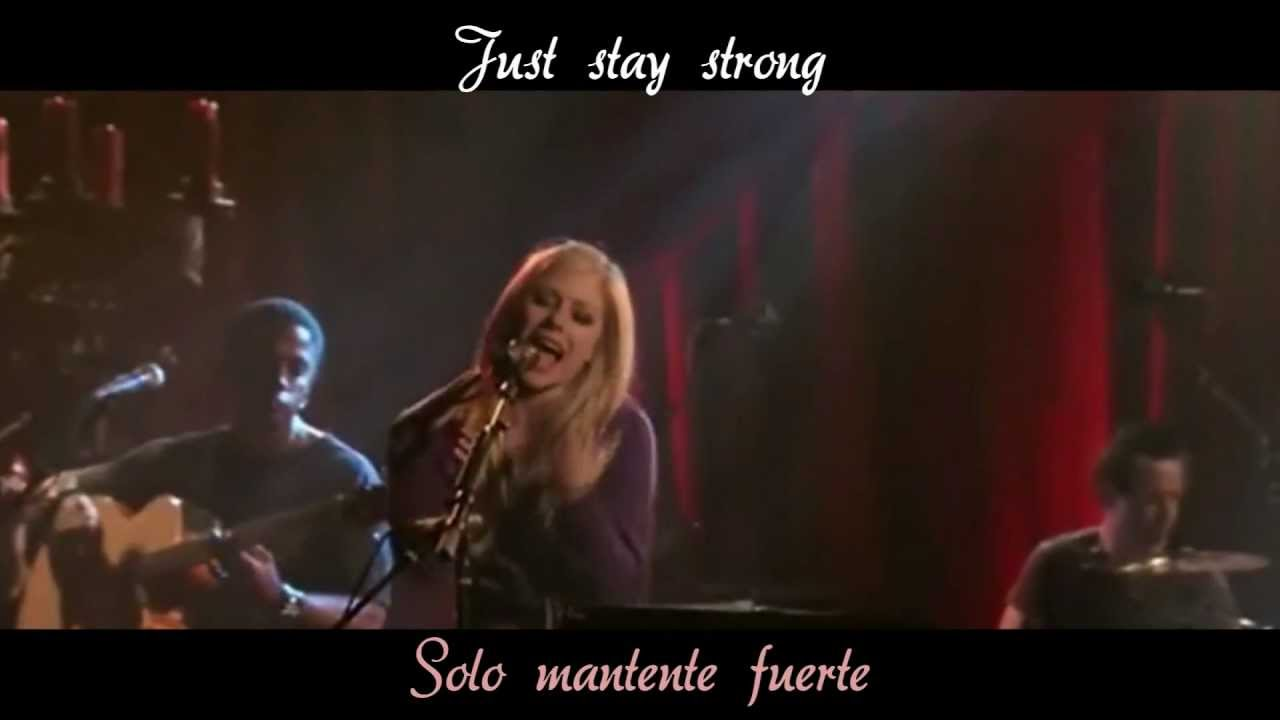 letra de keep holding on de avril lavigne: