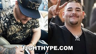 "ANDY RUIZ SIGNS ""NEW"" DEAL FOR JOSHUA REMATCH IN SAUDI ARABIA; DETAILS OF TERMS REVEALED"