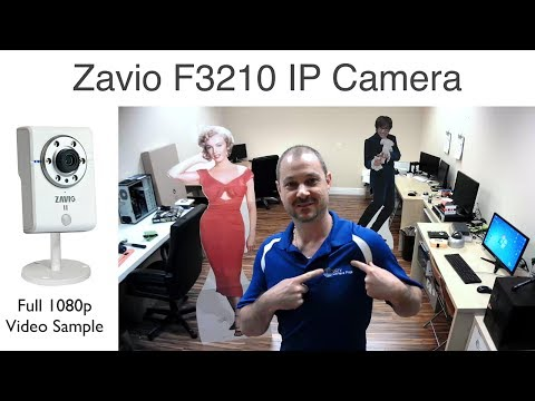 Zavio F3210 Network IP Camera 1080p HD Surveillance Video