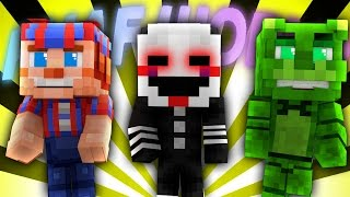 FNAF World - MARIONETTE (Minecraft Roleplay) Day 13