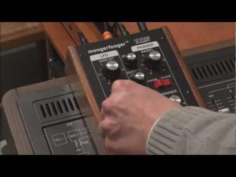 Moogfooger MF-103 et Yamaha CS60