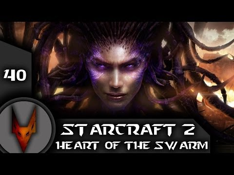 Спасти капитана Рейнора  [Starcraft 2: Heart of the Swarm # 40]