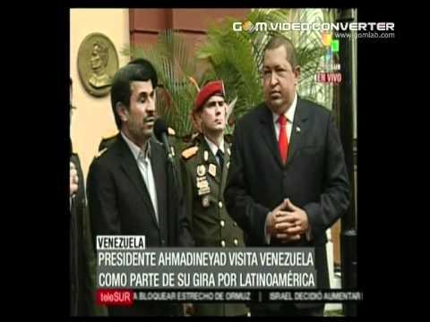 Mahmoud Ahmadinejad VISIT  Hugo Chavez Venezuela