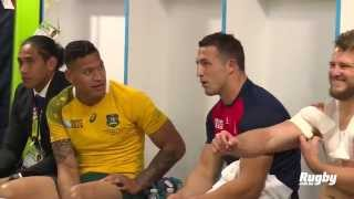 Wallabies: Burgess and Folau post game catch up