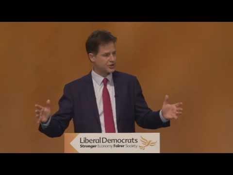 LIVE - Nick Clegg at the Liberal Democrat conference - Truthloader