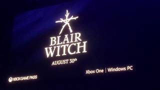 Blair Witch Crowd Reaction! - E3 2019