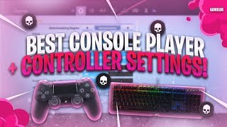 Best Controller Settings To Become A TOP Console Player + INSANE Highlights! BEST Combat Pro Player