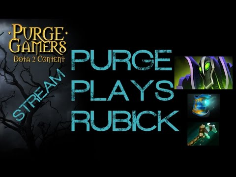 Dota 2 Purge plays Rubick