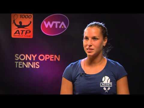 Sony Open Tennis interview with Cibulkova
