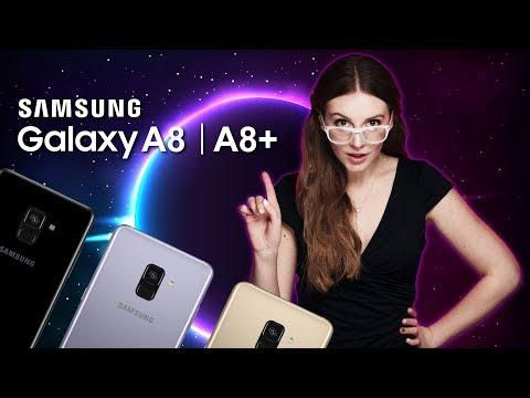 Samsung Galaxy A8 и A8+: главные фишки смартфонов