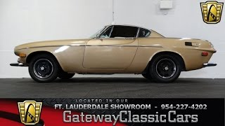 1971 Volvo P1800 E - Gateway Classic Cars of Fort Lauderdale Stock #159