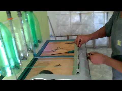 maquina de refilar garrafa pet