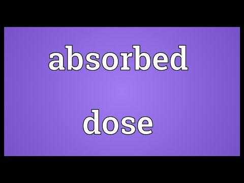 Header of Absorbed Dose