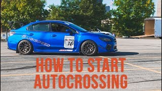 How to Start Autocrossing