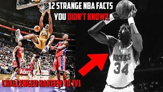 12 Strange NBA facts You Didn't know!!