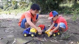 Trò chơi trẻ em-Xe cẩu, máy xúc, xe ủi đất, xe cuốc xúc cát