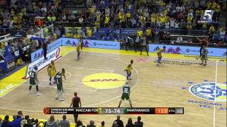 Euroleague Game 28: Maccabi FOX Tel Aviv 75 - Panathinaikos BC 76