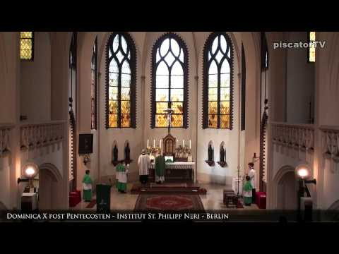 Dominica X post Pentecosten 08 Evangelium - Traditional Latin Mass
