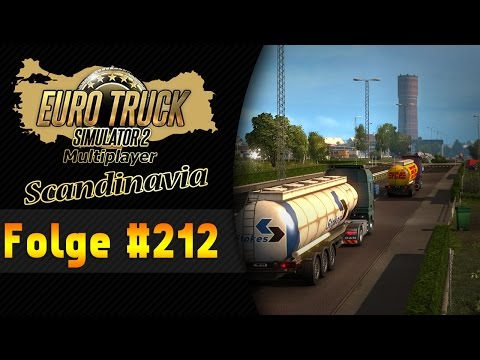 ETS 2 Multiplayer Scandinavia #212 WTF war das! ★ Let's Play Euro Truck Simulator 2