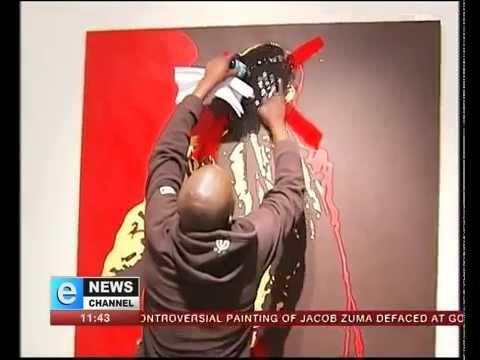 Zuma Painting Controversy Controversial Zuma