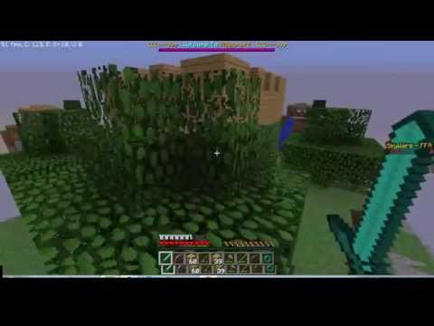 Teaming, Hacks, and Epic Losses!! Skywars #2 w/Crunchy!!!