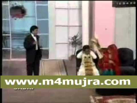 Umer Sharif Stage Show Pakistani Urdu Stage Drama(m4mujra)946.flv video