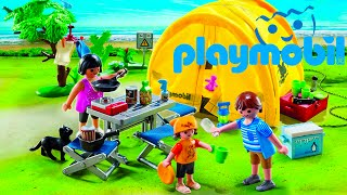 PLAYMOBIL Summer Fun Family Camping Trip