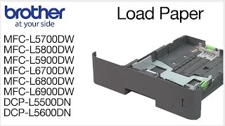 03.How to load paper into the Brother MFC-L5900DW