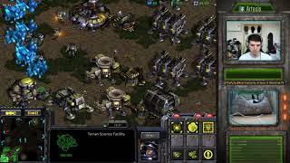 [10.5.19] StarCraft Remastered 1v1 (FPVOD) Artosis (T) vs A Barcode (Z) Fighting Spirit