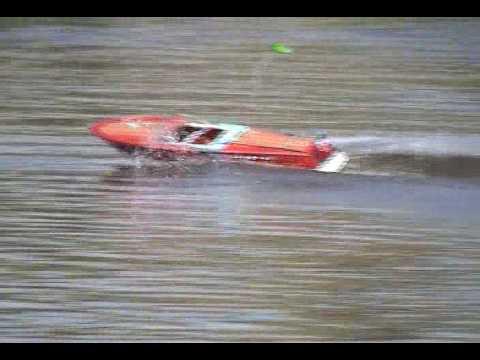 RC scale boat fast electrics model