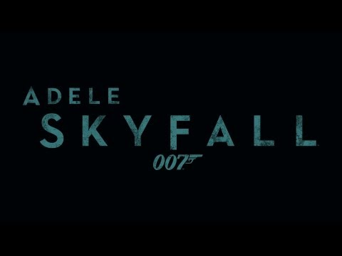 Buy Skyfall now: http://smarturl.it/AdeleSkyfall Written by ADELE and Paul Epworth. Skyfall is the official theme song to the James Bond film of the same nam...