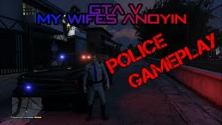 GTA V Police Uniform Chase and Shootout - FIB Gameplay