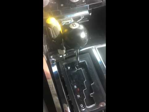 Dodge Charger Gear Shift Stuck