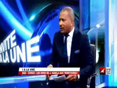 BAS-CONGO : LES DONS DE J.KABILA AUX TERRITOIRES! TOTSHUMANY KISOMBE 1/2