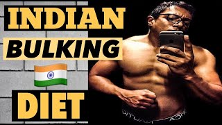 Full Day Of Eating [ Indian BULKING/ MUSCLE Gain Diet During QUARANTINE] हिन्दी ????????