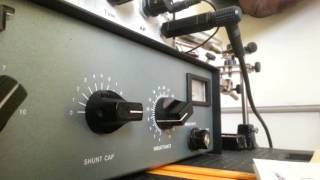 QRP CW QSO with DJ8SW using EGV40 kit transceiver
