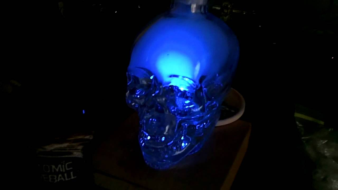 Skull Vodka Bong Crystal Skull Vodka Hookah
